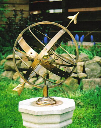 Weathered Ecliptic Armillary